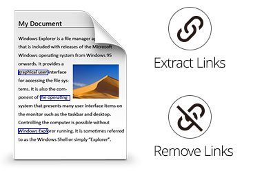 PDF Link Editor - Batch Edit PDF Hyperlinks
